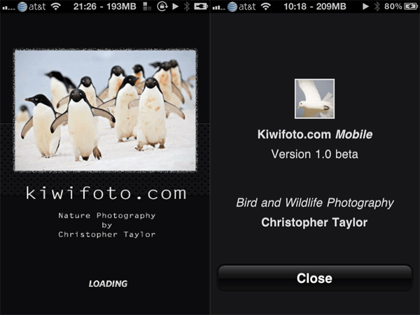 Kiwifoto iPhone App